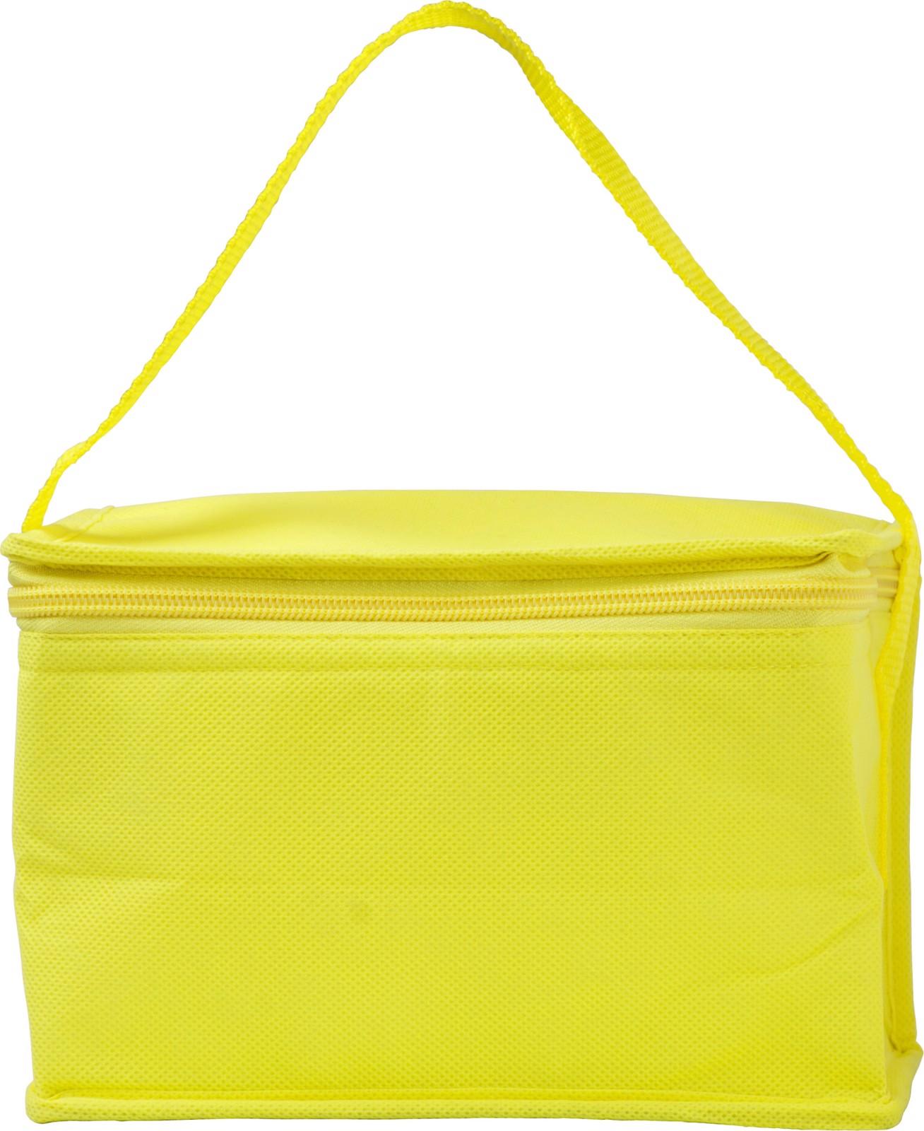 Nonwoven (80 gr/m²) cooler bag - Yellow