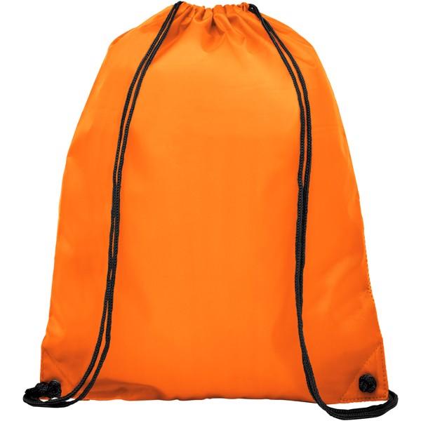 Oriole dvojitý kapesní šnůrkový batoh - 0ranžová
