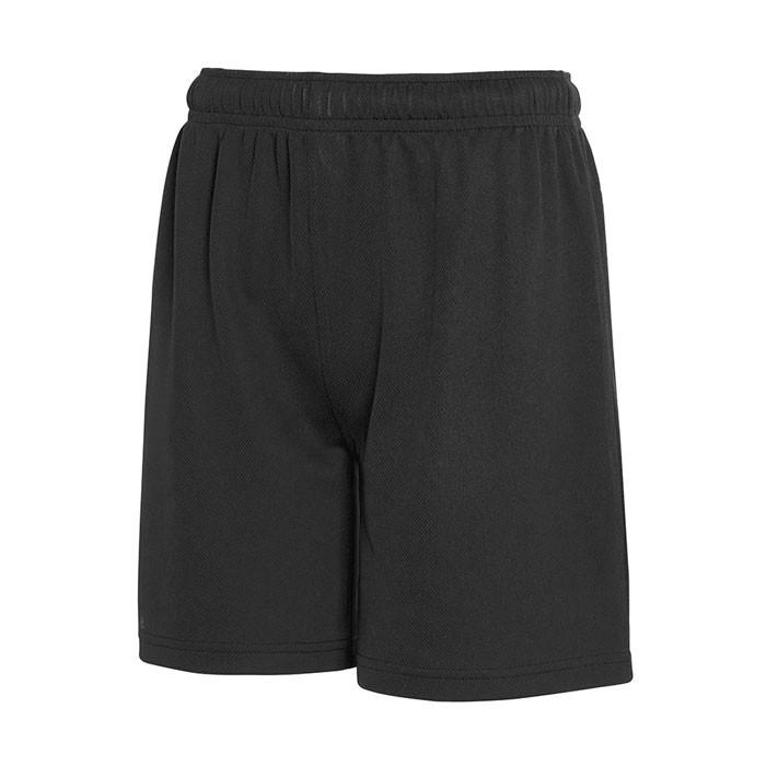 Dziecięce Spodnie sportowe Kid Performance Short 64-007-0 - Czarny / Czarny opal / XL