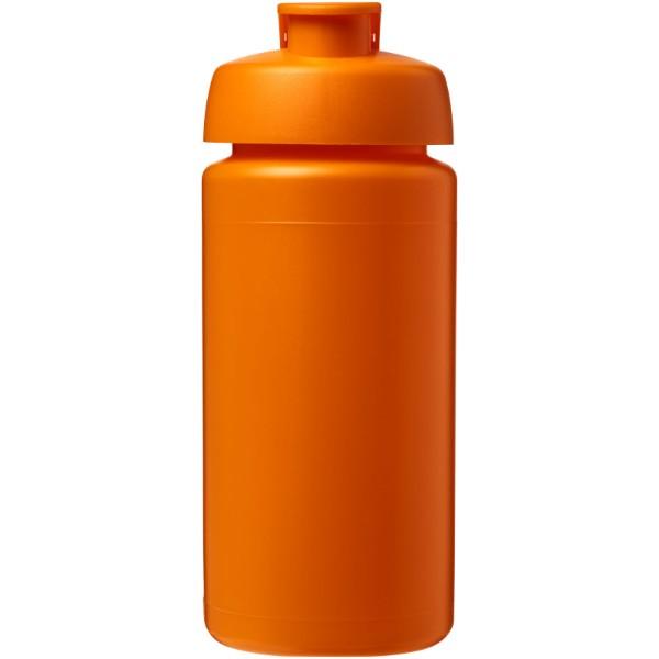 Sportovní láhev s vyklápěcím víčkem Baseline® Plus grip 500 ml - 0ranžová