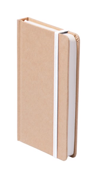 Notebook Bosco - White / Natural
