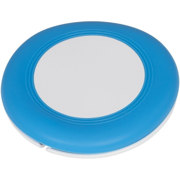 Nebula wireless charging pad with 2-in-1 cable - Light blue