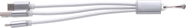 Aluminium alloy cable set - Silver