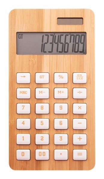Bambusz Számológép BooCalc - Natúr