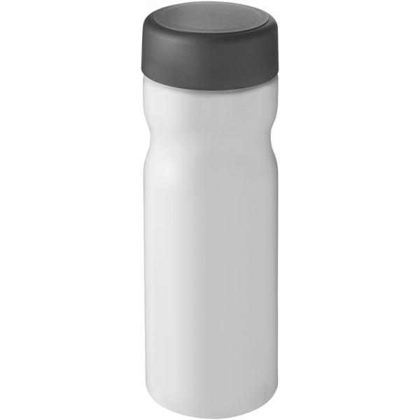 H2O Base 650 ml screw cap water bottle - Biały / Szary