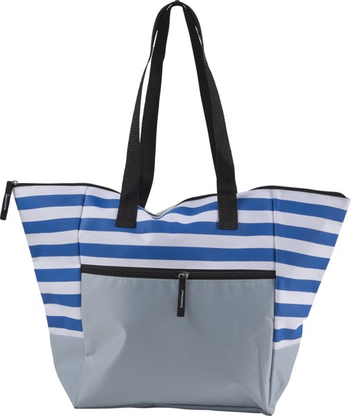 Polyester (600D) beach bag - Blue