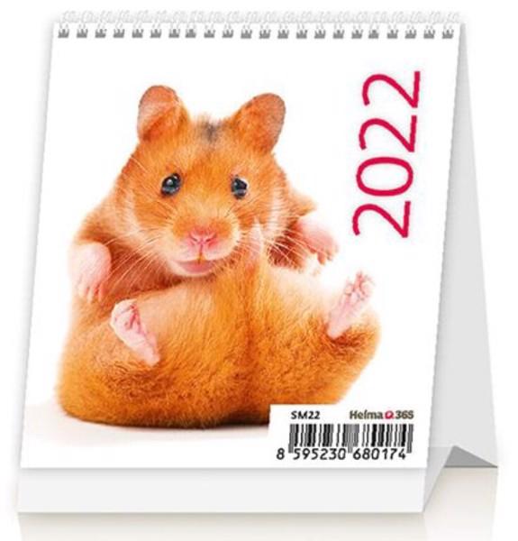 Měsíční kalendář Mini Pets 2022