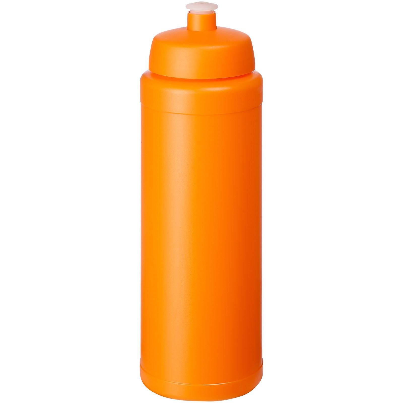 Baseline® Plus grip 750 ml sports lid sport bottle - Orange