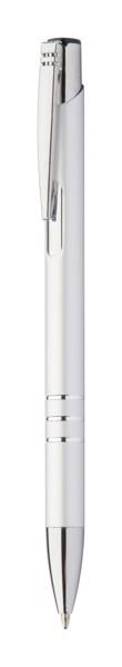 Ballpoint Pen Channel Black - Silver