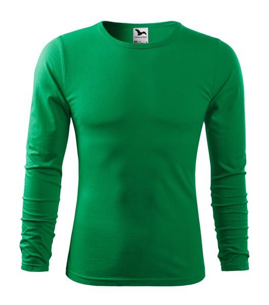 T-shirt men's Malfini Fit-T LS - Kelly Green / 2XL