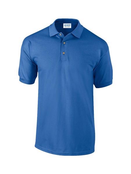 Polokošile Pique Ultra Cotton - Modrá / L