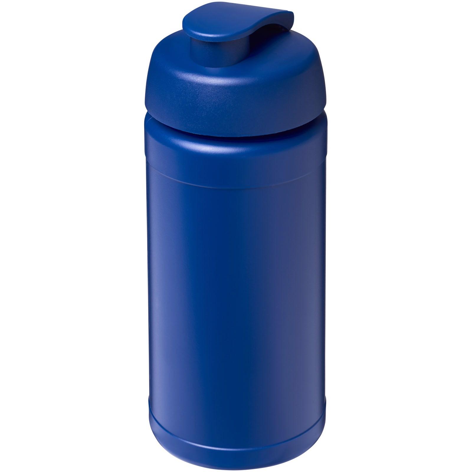 Baseline® Plus 500 ml flip lid sport bottle - Blue