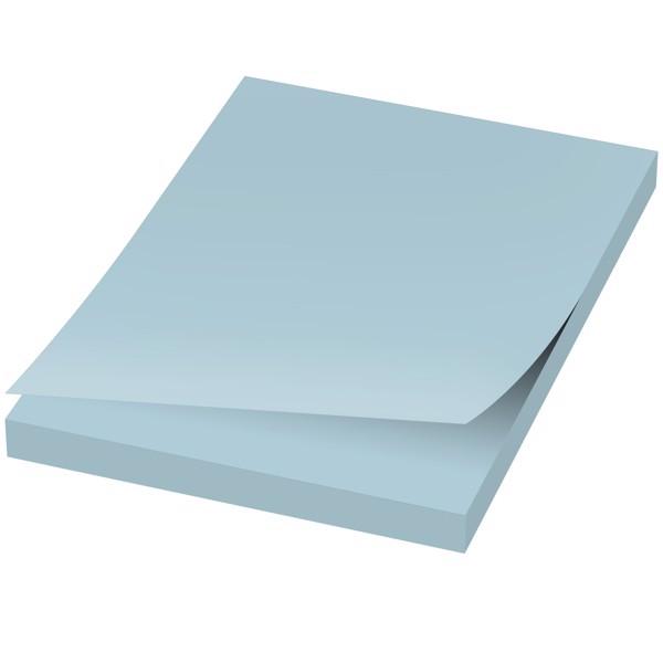 Samolepicí lístečky Sticky-Mate® 50x75mm - Světle modrá / 50 pages
