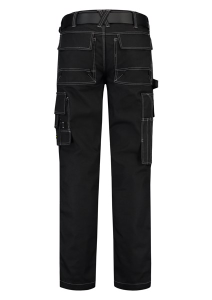 Pracovní kalhoty unisex Tricorp Cordura Canvas Work Pants - Černá / 54