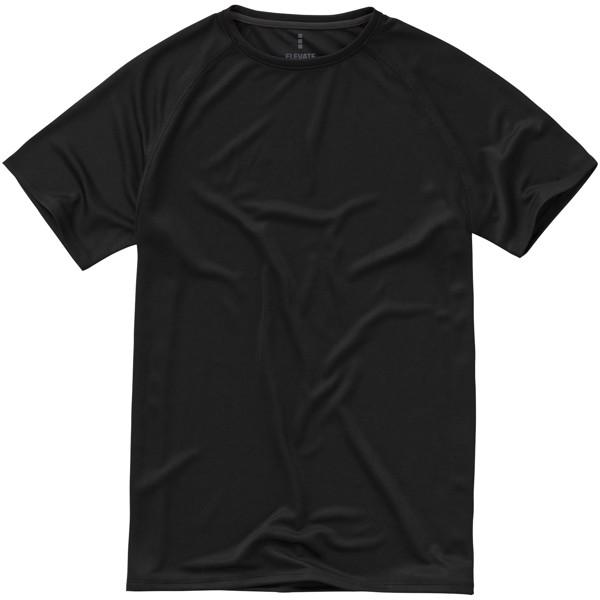Pánské Tričko Niagara s krátkým rukávem, cool fit - Černá / L