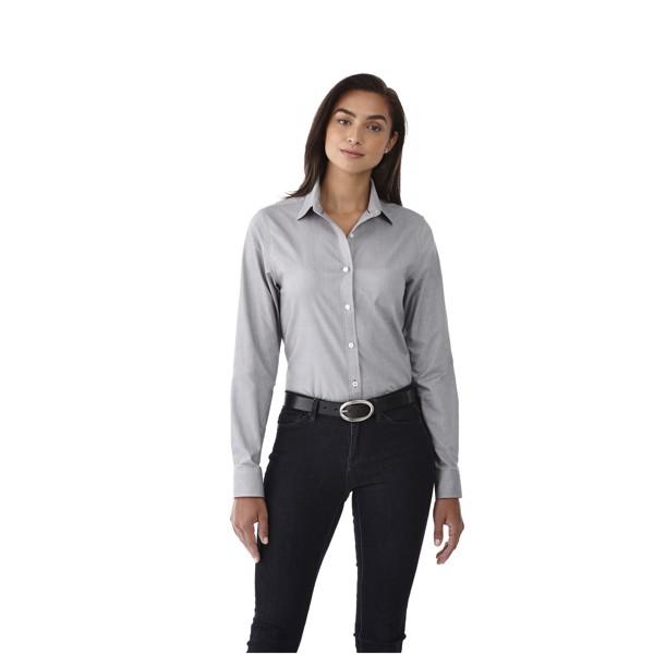 Vaillant long sleeve women's oxford shirt - Steel grey / XS