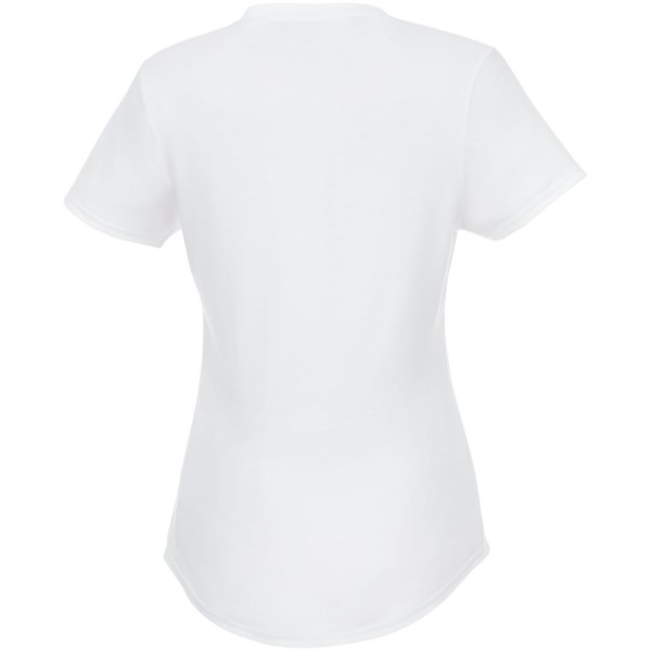 Jade short sleeve women's GRS recycled t-shirt - White / L