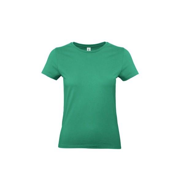T-shirt female 185 g/m² #E190 /Women T-Shirt - Kelly Green / XXL