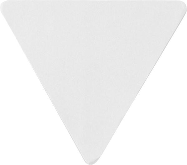 Soporte de papel y notas adhesivas - White