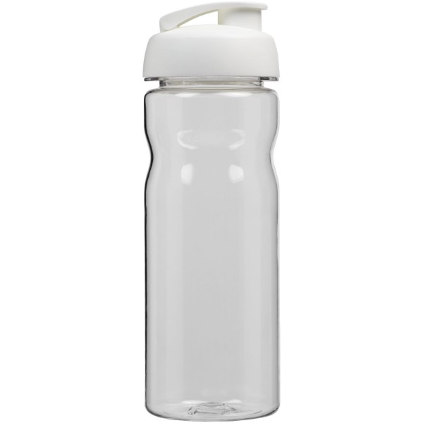 H2O Base Tritan™ 650 ml flip lid sport bottle - Transparent / White
