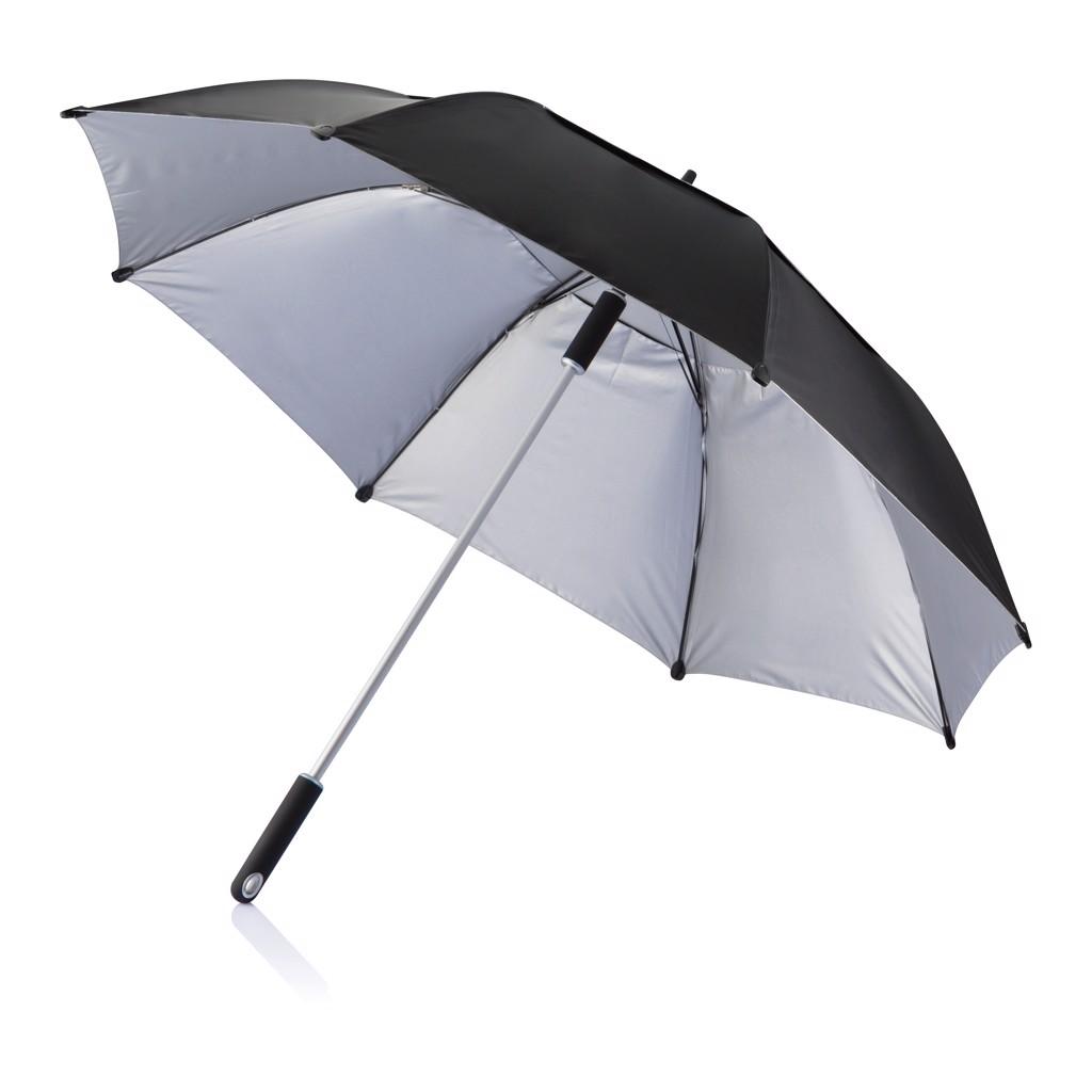 """27"""" odolný deštník Hurricane - Černá"""