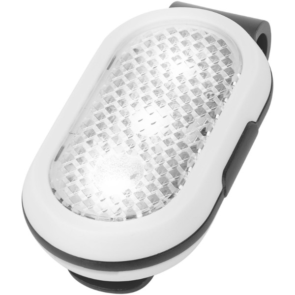 Klip reflector light - Solid black / White