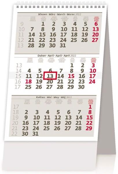 Tříměsíční kalendář MINI 2022