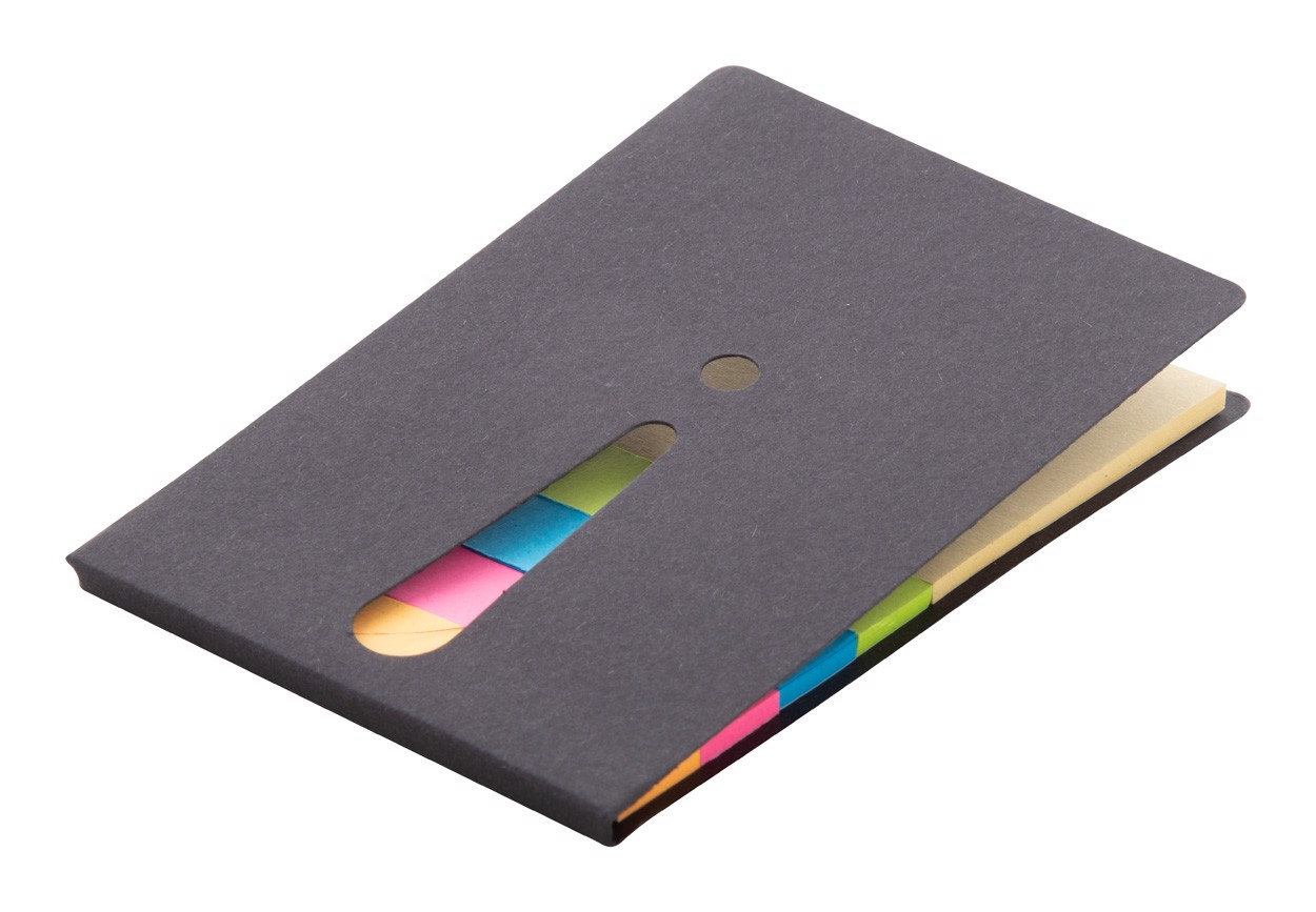 Adhesive Notepad Exclam - Black