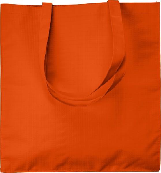 Paper shopping bag - Orange