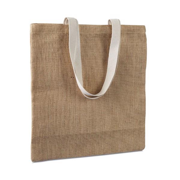 Jutowa torba na zakupy Juhu