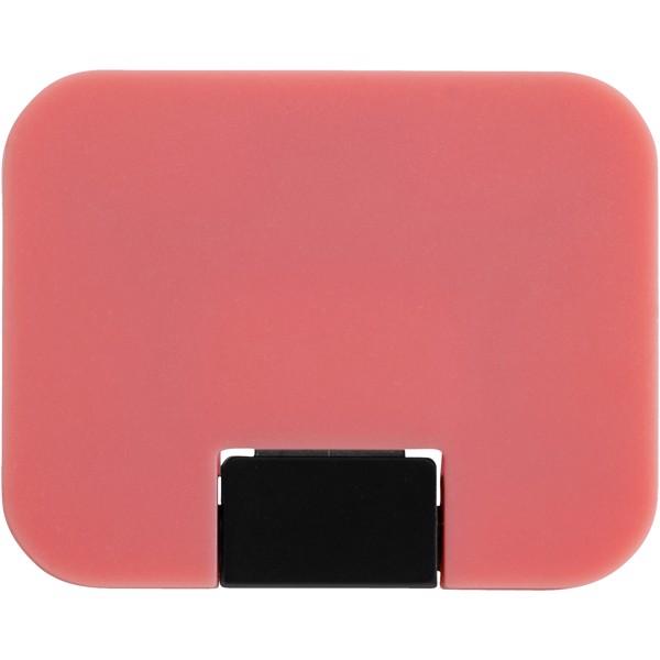 Rozdzielacz USB Gaia 4-portowy - Różowy