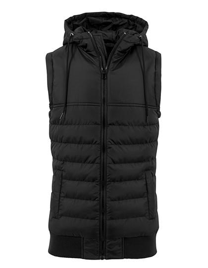 Bubble Vest - Black / Black / XL