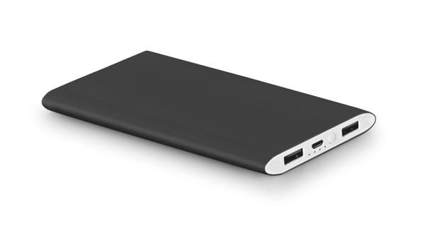 NOBEL. Portable battery 7'200 mAh - Black