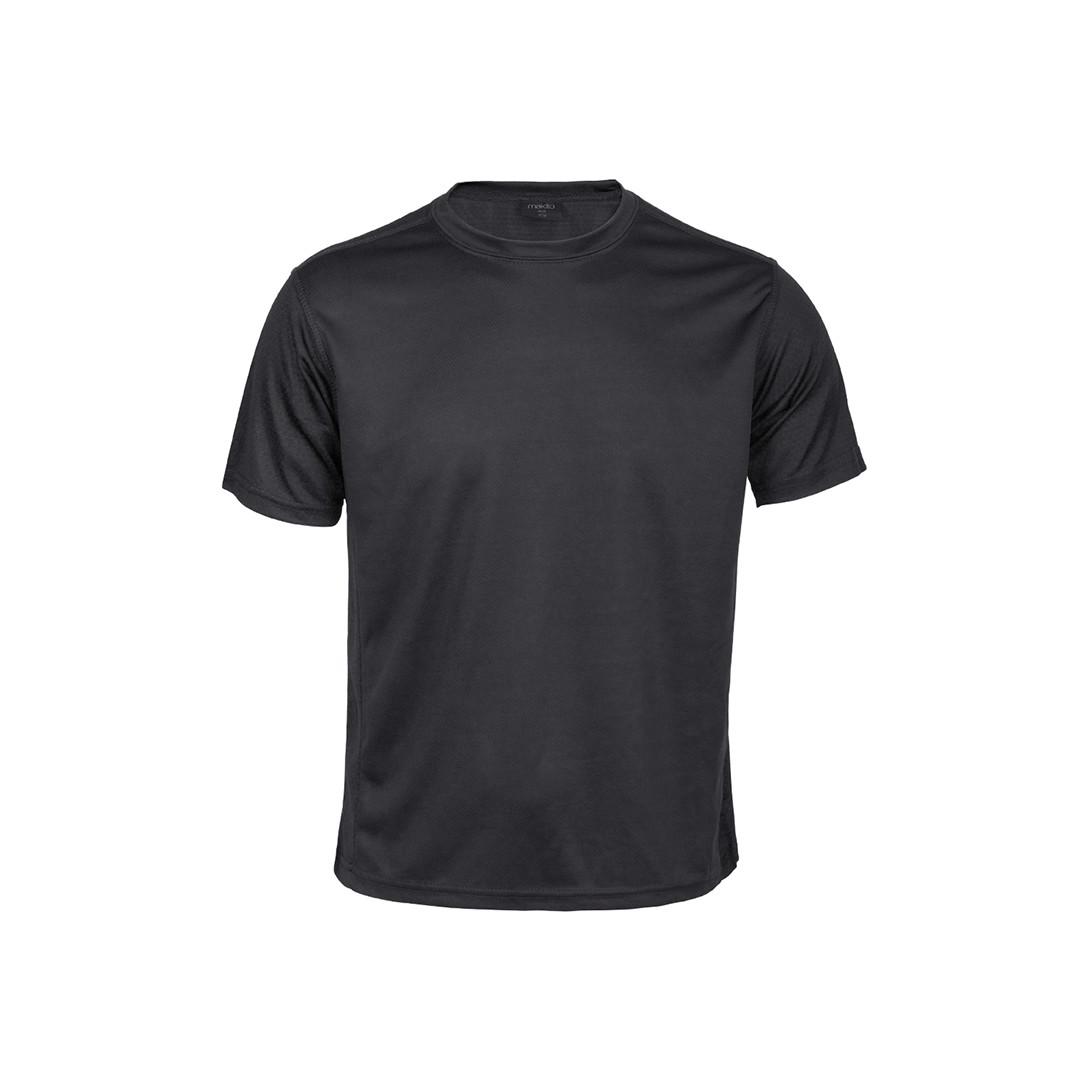 T-Shirt Criança Tecnic Rox - Preto / 6-8
