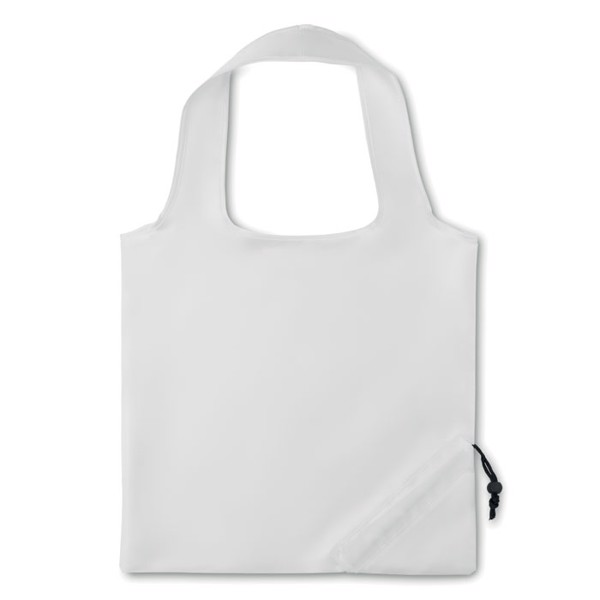 210D Foldable bag Fresa - White
