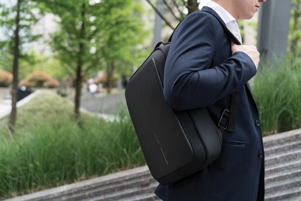 Bobby Bizz anti-theft backpack & briefcase - Black