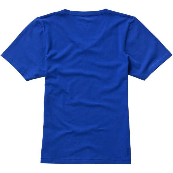 Kawartha short sleeve women's GOTS organic t-shirt - Blue / M