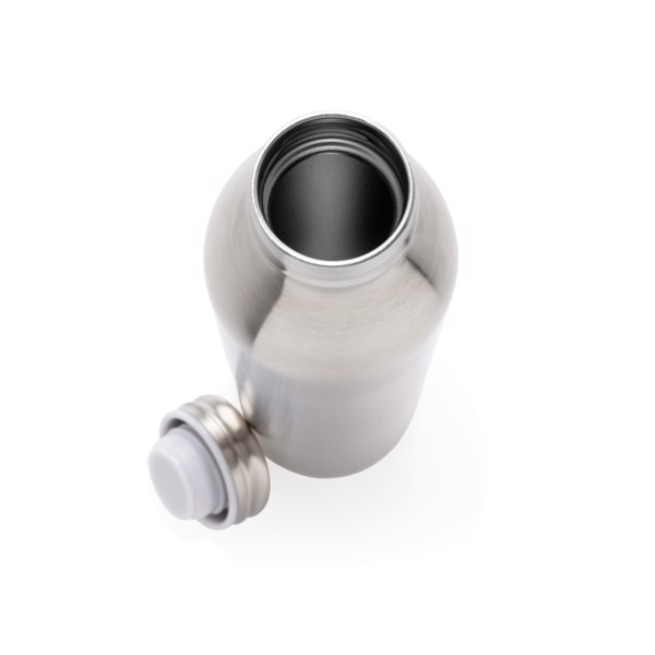 Szivárgásmentes, réz- és vákuumszigetelt palack - Ezüst Színű
