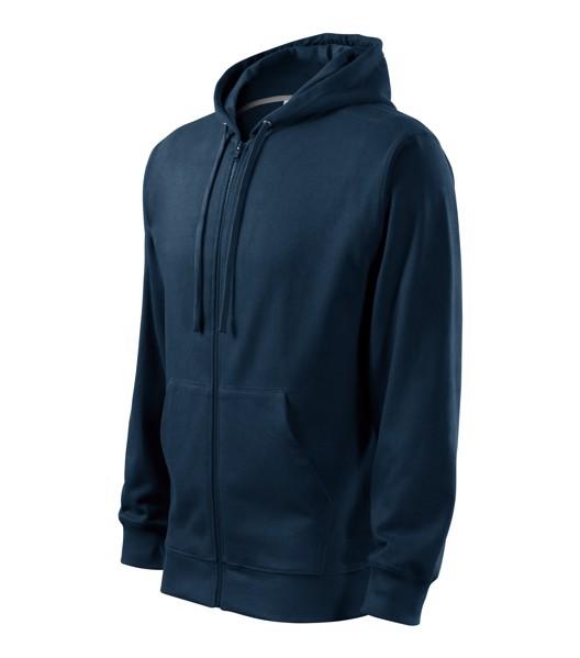 Sweatshirt Kids Malfini Trendy Zipper - Navy Blue / 10 years