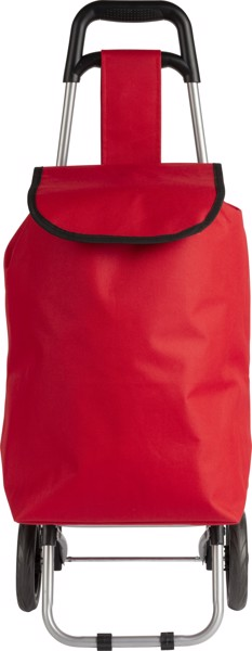 Trolley 'Granny' aus 600D Polyester - Red