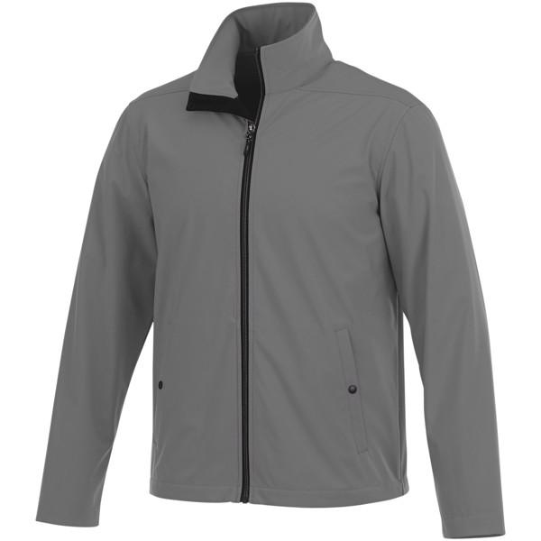 Karmine men's softshell jacket - Steel Grey / XXL