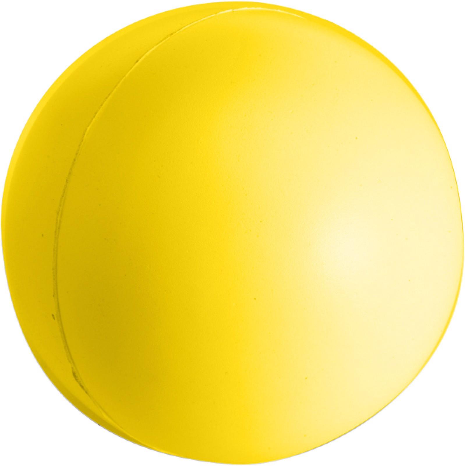 PU foam stress ball - Yellow