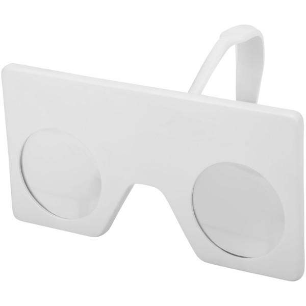 """Gafas mini de realidad virtual con clip """"Vish"""" - Blanco"""
