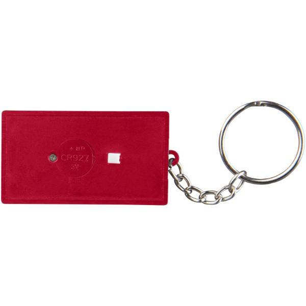 Cinema LED keychain light - Red