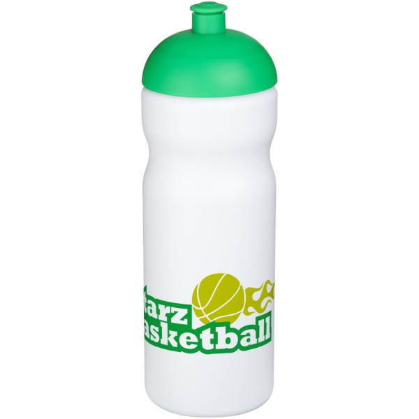 Baseline® Plus 650 ml dome lid sport bottle - White / Green