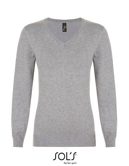 Glory Women Sweater - Grey Melange / XL