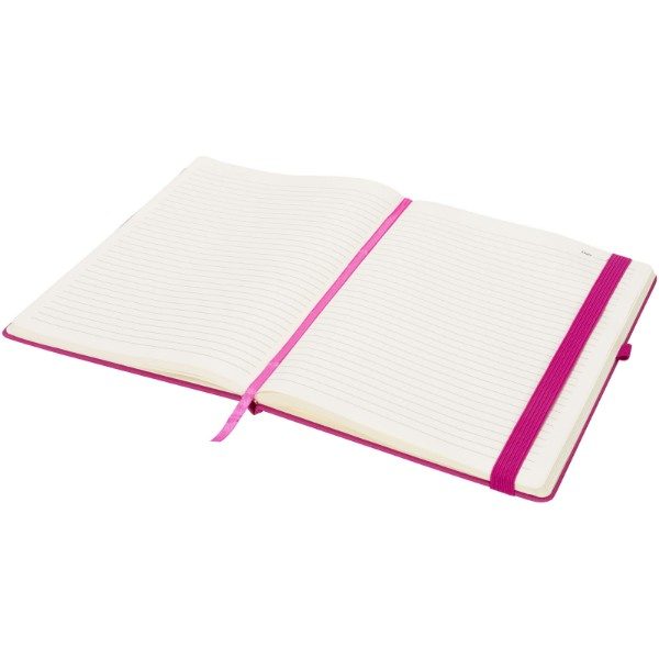 Rivista large notebook - Magenta