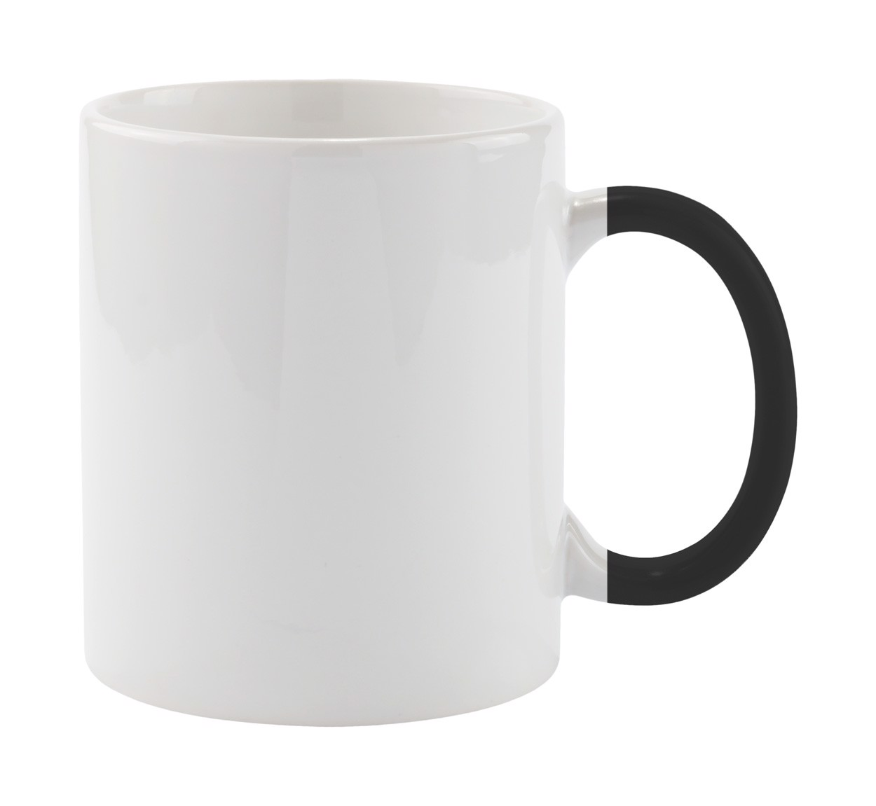 Mug Plesik - White / Black