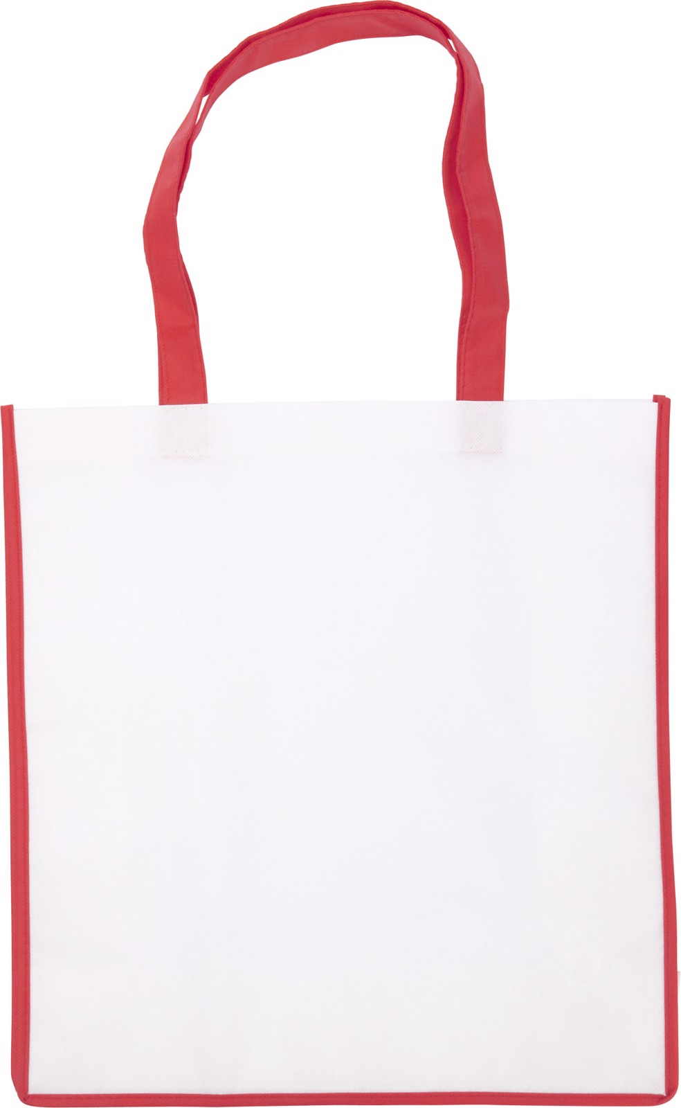 Nonwoven (80 gr/m²) bag - Red