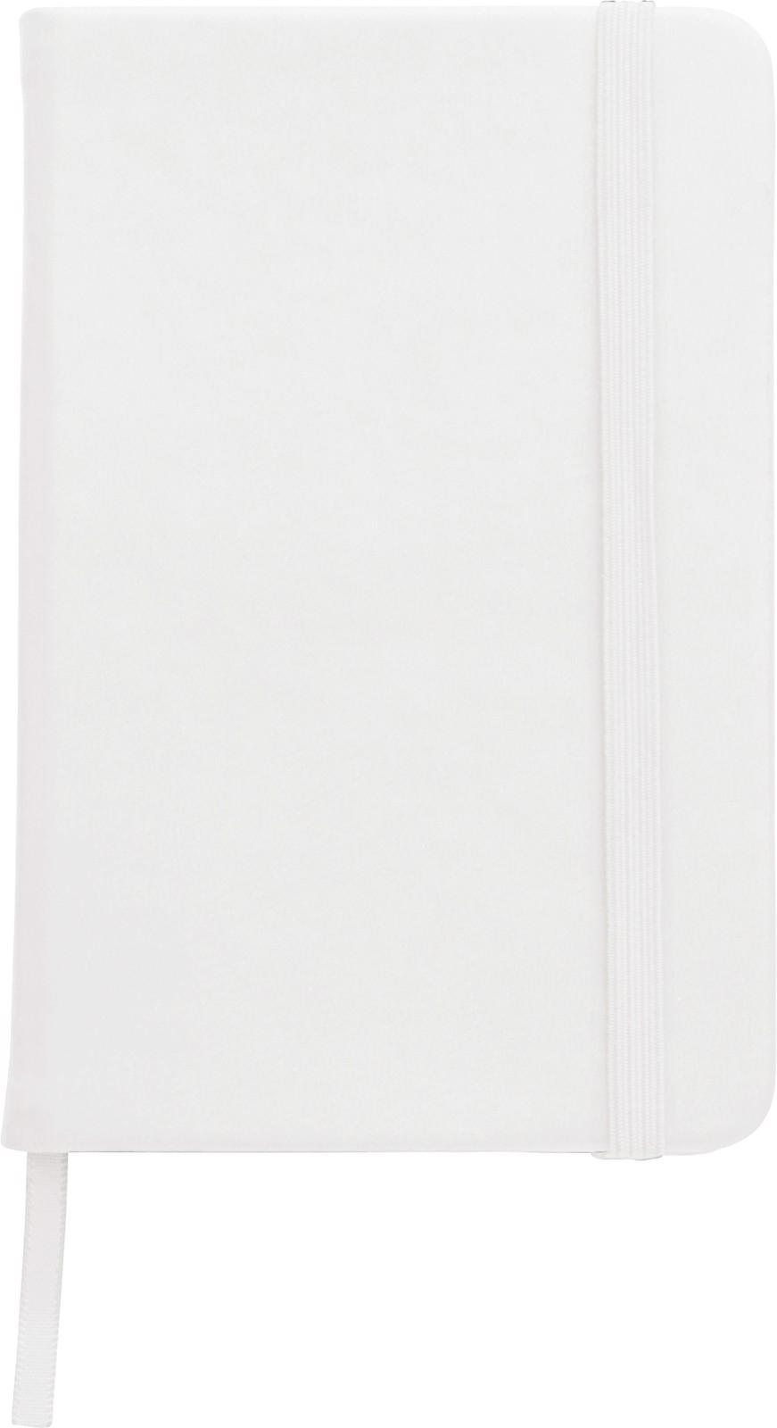 PU notebook - White